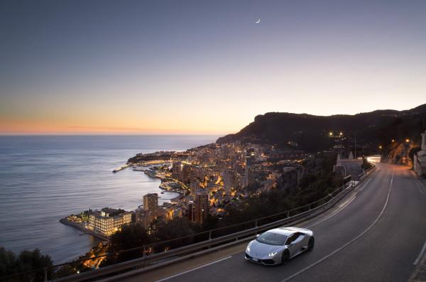 Lamborghini in Monaco. 01-2016